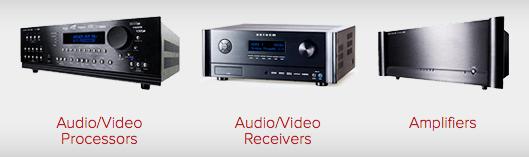 Anthem Receivers Amplifers Processors